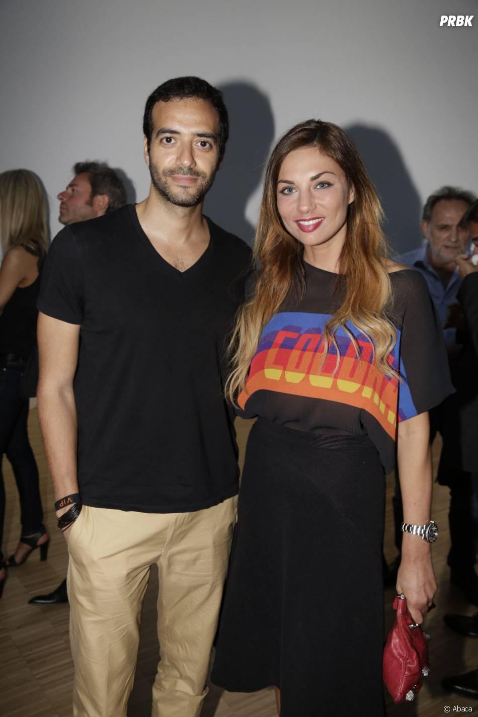Tarek Doudali et Ariane Brodier à la soirée du concours Orange des Jeunes Designers le 4 juin 2015 à Paris