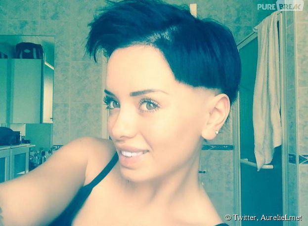 Aurélie (Les Marseillais) crâne rasé sur Twitter