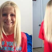A 8 ans, malgré les moqueries, il se laisse pousser les cheveux et les offre à des enfants malades
