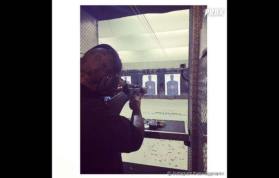 Swagg Man a passé son permis de port d'armes