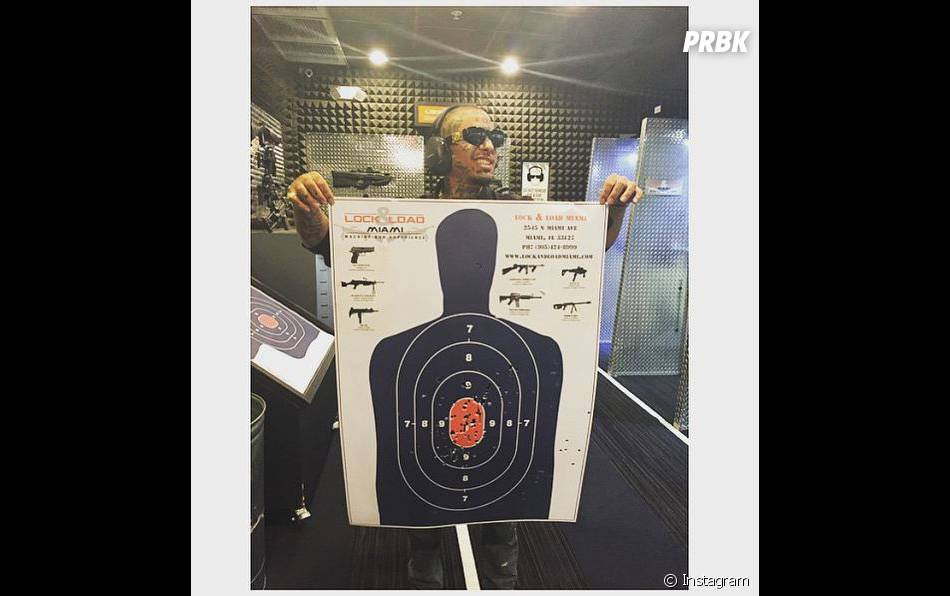 Swagg Man pro du tir sur Instagram