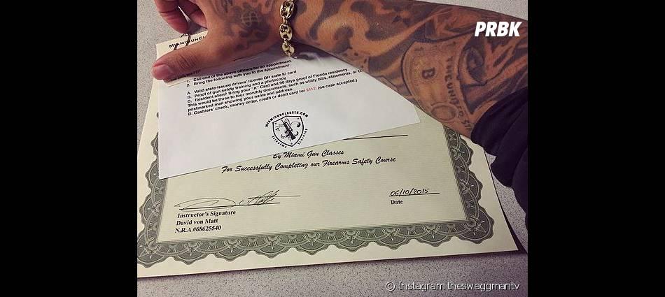 Swagg Man a obtenu son permis de port d'armes