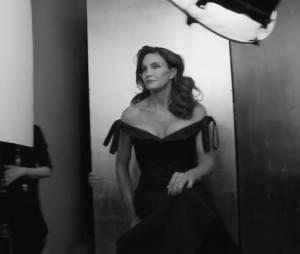Caitlyn Jenner lors de son shooting pour Vanity Fair
