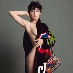 Katy Perry nue et sexy : son photoshoot pour Moschino