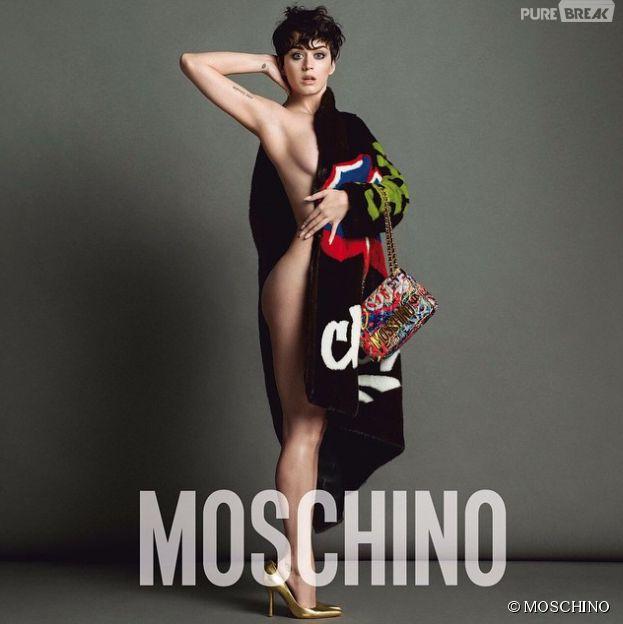 Katy Perry nouvelle égérie de Moschino : sexy et sensuelle pour la collection automne/hiver 2015