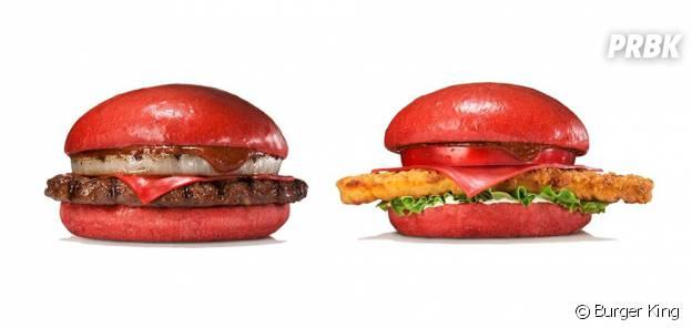 Burger King lance un burger rouge au piment au Japon