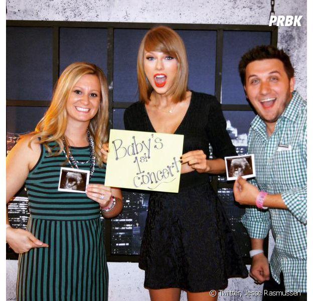 Taylor Swift annonce une bonne nouvelle dans les coulisses d'un concert