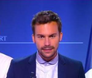 """Bertrand Chameroy """"énervé"""" après la victoire de Camille Combal, le 24 juin 2015 dans TPMP"""