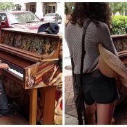 Ce SDF qui joue du piano dans la rue de sa ville a bouleversé l'Amérique