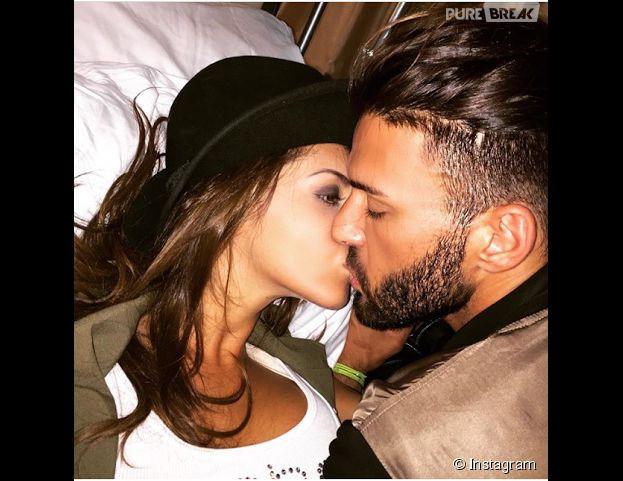 Nabilla Benattia et Thomas Vergara : photo à deux et bisou sur Instagram