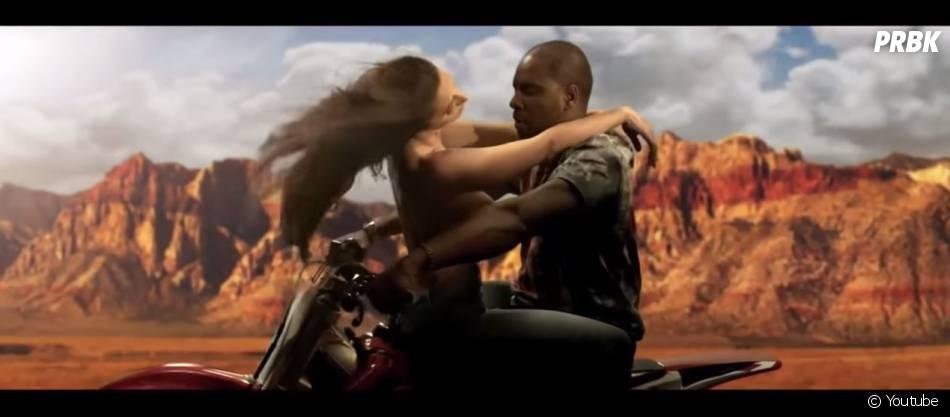 Drake en Kanye West dans son nouveau clip 'Energy'