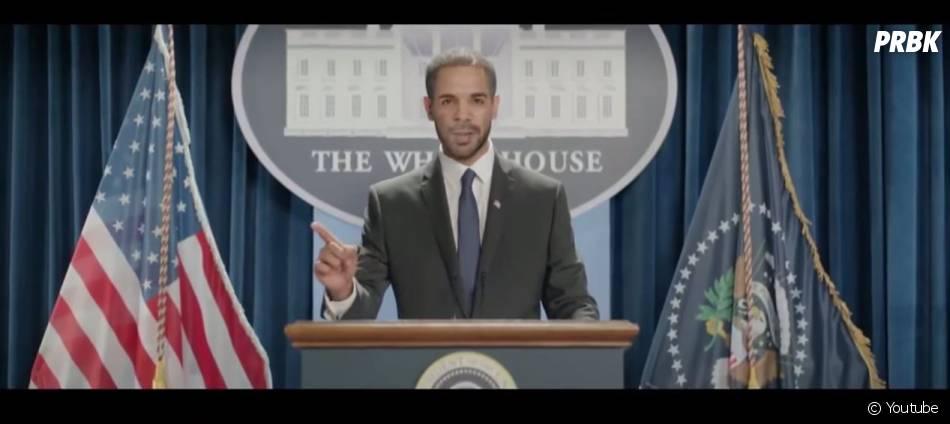 Drake en Barack Obama dans son nouveau clip 'Energy'