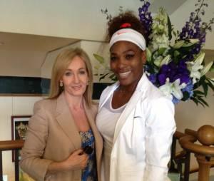 J.K. Rowling et Serena Williams dans les coulisses de Wimbledon 2015