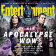 X-Men Apocalypse en Une de Entertainement Weekly avec Olivia Munn, Oscar Isaac et Michael Fassbender