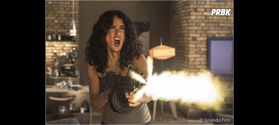 Everly : Salma Hayek en mode badass