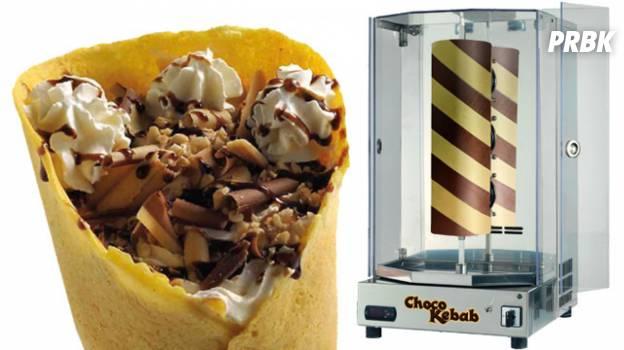 Choco Kebab : quand le kebab devient un dessert sucré au chocolat