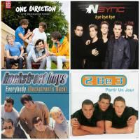 2be3, G Squad, Tragédie, Hanson, One Direction, Worlds Apart... Playlist spéciale Boys Band
