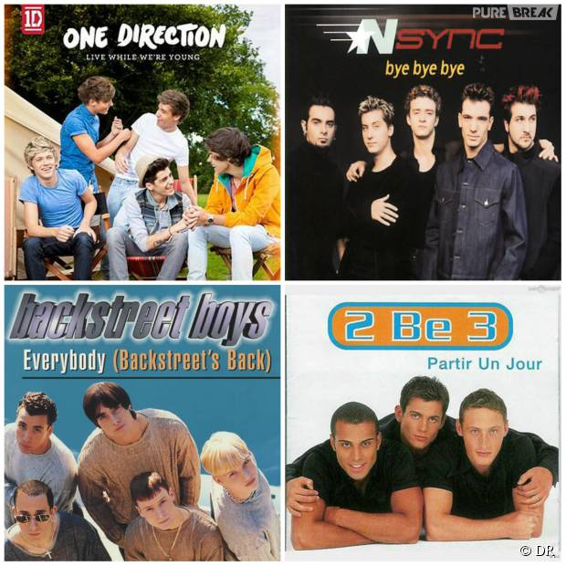 2be3, One Direction, *NSYNC, Backstreet Boys .. Playlist spéciale Boys Band