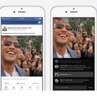 """Facebook lance """"Facebook Live"""", son Periscope... pour les stars !"""