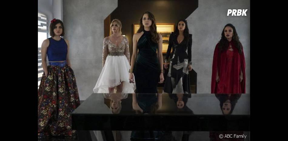 Pretty Little Liars saison 6 : Aria, Hanna, Spencer, Emily et Mona face à A