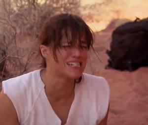 Michelle Rodriguez dégoutée par ce qu'elle vient de faire