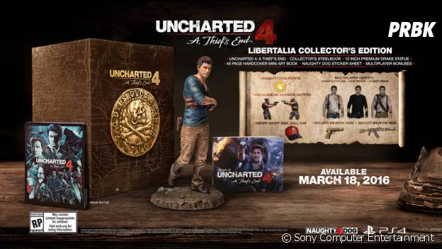"Uncharted 4 : l'édition collector ""Libertalia Collector's Edition"""