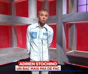 Le Petit Journal : Adrien, bachelier de 18 ans sans fac, parle face caméra