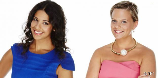 Alia et Manon (Secret Story 9) : les nominées filles de la semaine du 8 septembre 2015