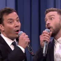 Justin Timberlake et Jimmy Fallon affolent l'US Open 2015 avec une choré de Beyoncé