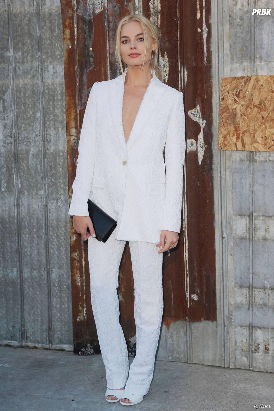 Margot Robbie au Givenchy Fashion Show, le 11 septembre 2015