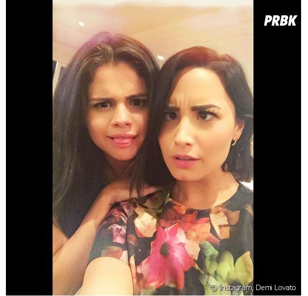 Demi Lovato et Selena Gomez complices sur Instagram, le 10 septembre 2015
