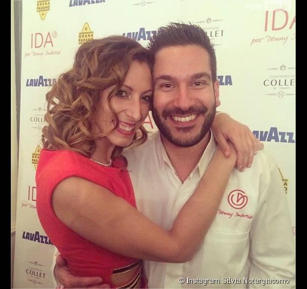 Silvia Notargiacomo (Danse avec les stars) et Denny Imbroisi (Top Chef) : un couple heureux sur Instagram