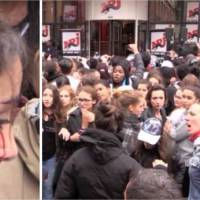 Justin Bieber : après une bagarre, une fan finit le nez en sang à Paris !