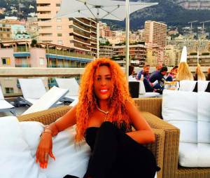 Afida Turner sexy sur une plage de Monaco, mai 2015