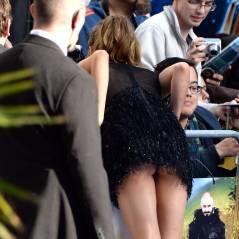 Cara Delevingne exhibe ses fesses : accident de robe à l'avant-première de Pan