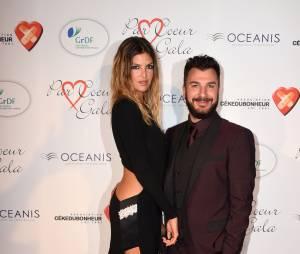Isabelle Funaro et Michael Youn au gala Par Coeur, le 24 septembre 2015