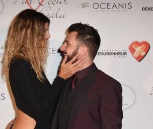 Isabelle Funaro et Michael Youn complicesau gala Par Coeur, le 24 septembre 2015