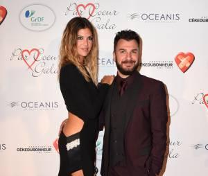 Isabelle Funaro et Michael Youn ont assistéau gala Par Coeur, le 24 septembre 2015