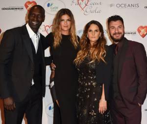 Isabelle Funaro, Michael Youn et Omar Syau gala Par Coeur, le 24 septembre 2015