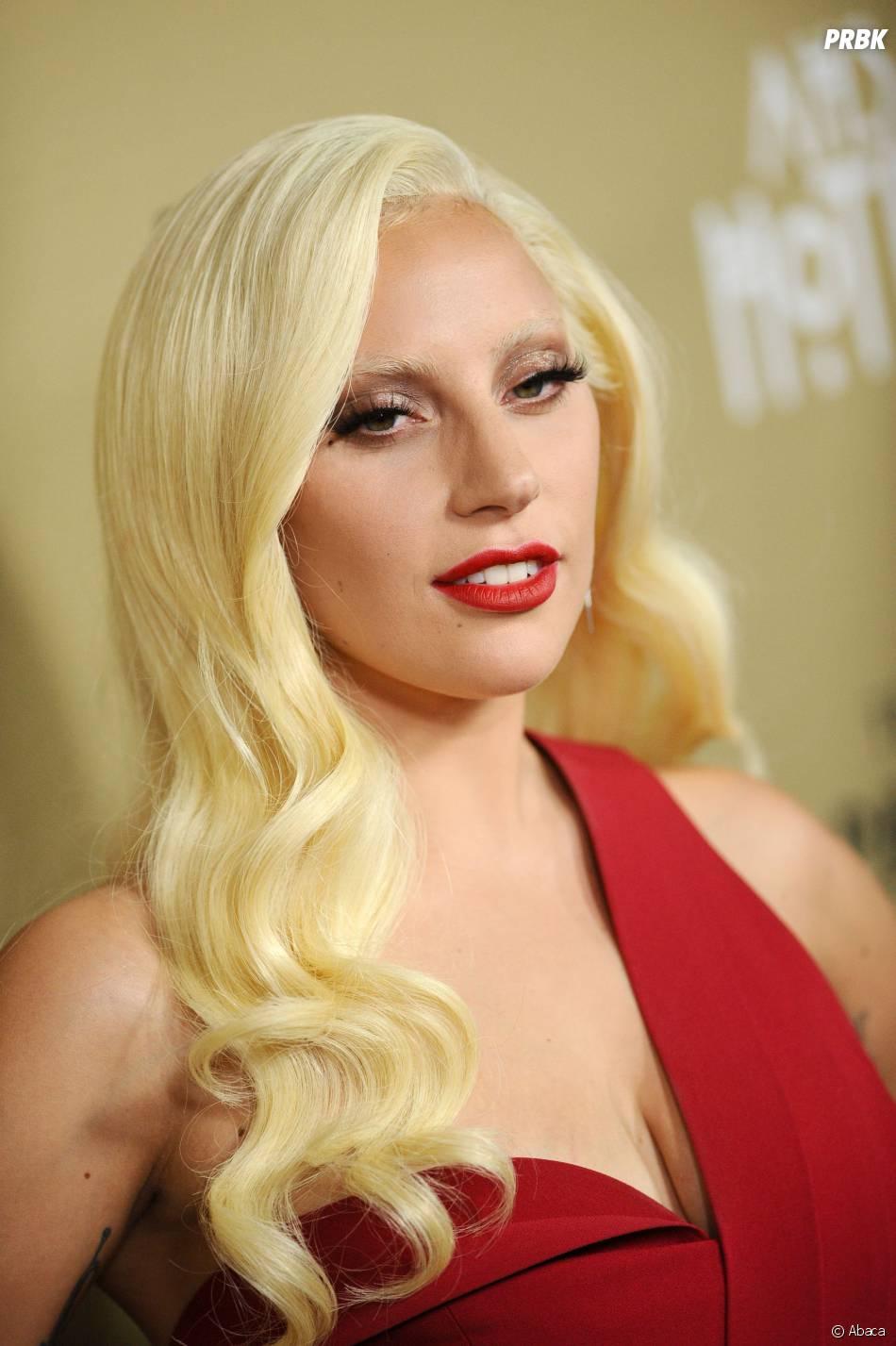 Lady Gaga glamour à l'avant-première de American Horror Story : Hotel à Los Angeles le 3 octobre 2015