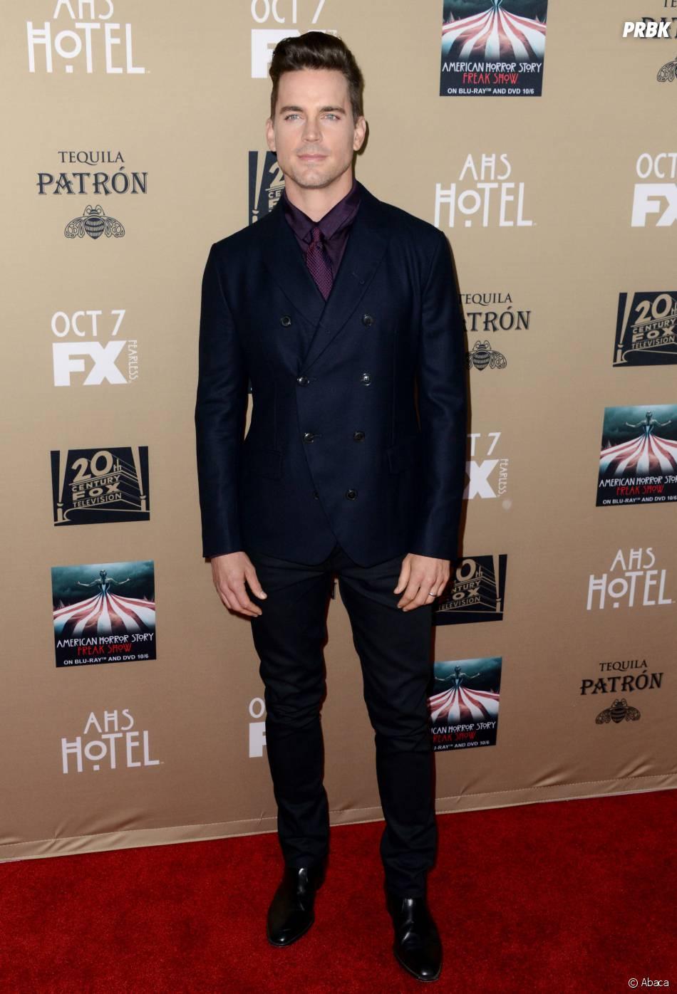 Matt Bomer à l'avant-première de American Horror Story : Hotel à Los Angeles le 3 octobre 2015