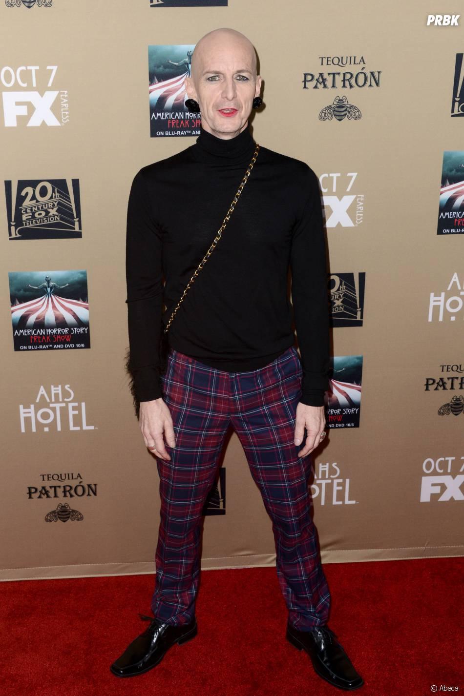 Denis O'Hare à l'avant-première de American Horror Story : Hotel à Los Angeles le 3 octobre 2015