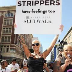 Amber Rose en lingerie pour la SlutWalk : son tacle à Kanye West