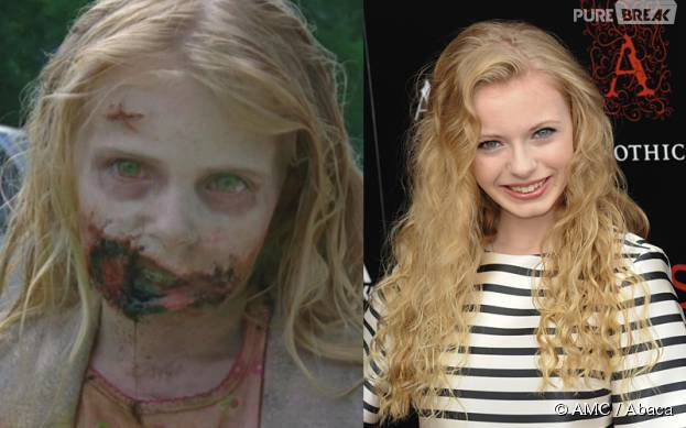 The Walking Dead : Addy Miller, la première zombie, a bien grandi
