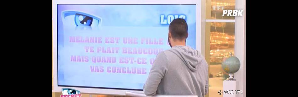 Secret Story 9 : Loïc questionné sur sa relation avec Mélanie pendant la dernière soirée confidences