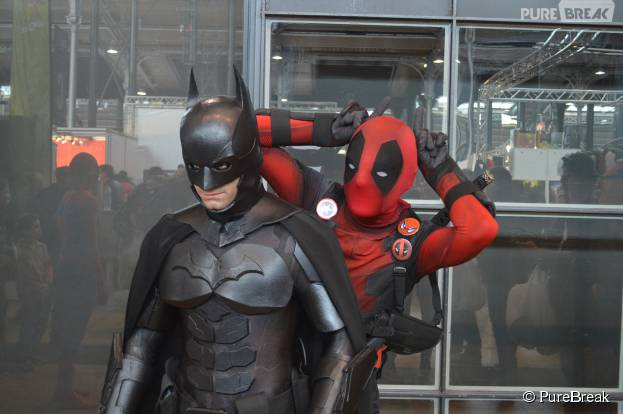 Comic Con Paris 2015 : Batman et un Deadpool farceur