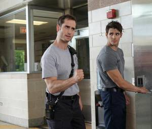 Steven R. McQueen (The Vampire Diaries) en pompier dans Chicago Fire