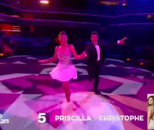 Priscilla Betti et Christophe Licata danse sur Shake It Off, le 31 octobre 2015 sur TF1