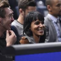 Shy'm : supportrice de charme de Benoît Paire à Bercy pour les BNP Paribas Masters