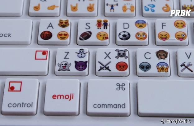 Emoji : le clavier à smileys bientôt en vente en ligne